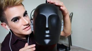 Dummy Head Mic Test ASMR (Sponge, Q tips, Face Massage, Brush, More)