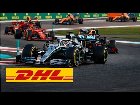 """World champion Lewis Hamilton once again emphasized his Formula 1 dominance by clocking a sixth DHL Fastest Lap of the 2019 season in the Abu Dhabi Grand Prix. The Mercedes man rounded the Yas Marina Circuit on Lap 53 in a time of 1:39.28 seconds, breaking the previous record set ten years ago by Sebastian Vettel.  Before the race began, Hamilton received the 2019 DHL Fastest Lap Award from DHL Express CEO John Pearson. Hamilton's four trophies take him to the top of the DHL Fastest Lap Award all-time winners. He is now clear of Vettel, who was previously level with him on three.  """"Fastest lap has a different importance this year because it's another point in the championship, so it has a bigger meaning from now on,"""" said Hamilton. """"It has been fun to chase the purple times at the end of the races, and I have had some really good laps – I can remember Silverstone, on older tyres and really pushing to the limit right before the chequered flag, in front of my home fans. The extra point has added some spice to the final laps of the races and it's pretty cool that we've done a good job this year in that area.""""  Second place in the 2019 DHL Fastest Lap Award went to Charles Leclerc on four best times, followed by Valtteri Bottas and Max Verstappen on three. In the season that has just come to a close, a total of seven drivers set at least one fastest race lap.   Read more: https://inmotion.dhl/en/formula-1/fastest-lap-award   Subscribe to our channel: https://www.youtube.com/dhl  Find us on: Twitter: https://twitter.com/DeutschePostDHL Facebook: https://www.facebook.com/DHL LinkedIn: https://www.linkedin.com/company/dhl/ For more information, visit our official website: https://www.logistics.dhl  About this channel: Welcome to the official YouTube channel of DHL, the global market leader in the logistics industry and The Logistics Company for the world. In our videos, we guide you through our work space and show you moments of achievement and innovation with our partners"""