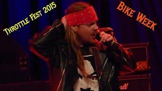 "Appetite For Destruction - ""IT'S SO EASY"" Live @ Throttle Fest 2015 in Myrtle Beach SC"