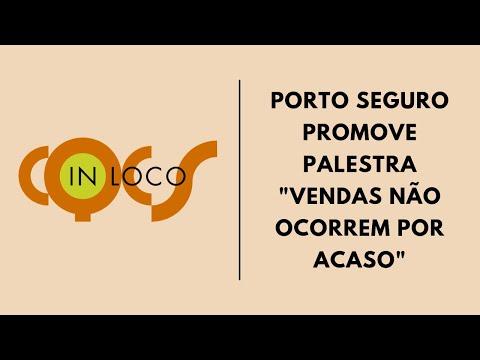 """Imagem post: Porto Seguro promove a palestra """"Vendas não ocorrem por acaso"""""""