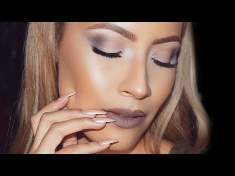 Urban Decay Smoky Palette Makeup Look - Desi Perkins