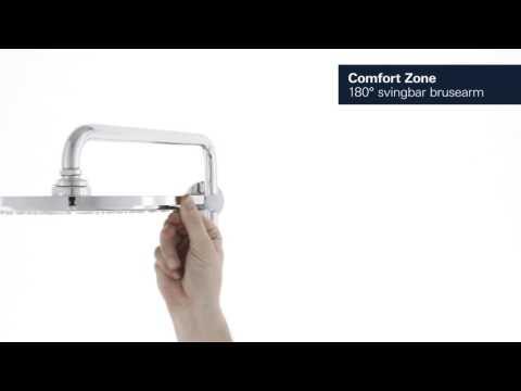 PRODUKT | Grohe Euphoria XXL 310 brusesystem med termostat