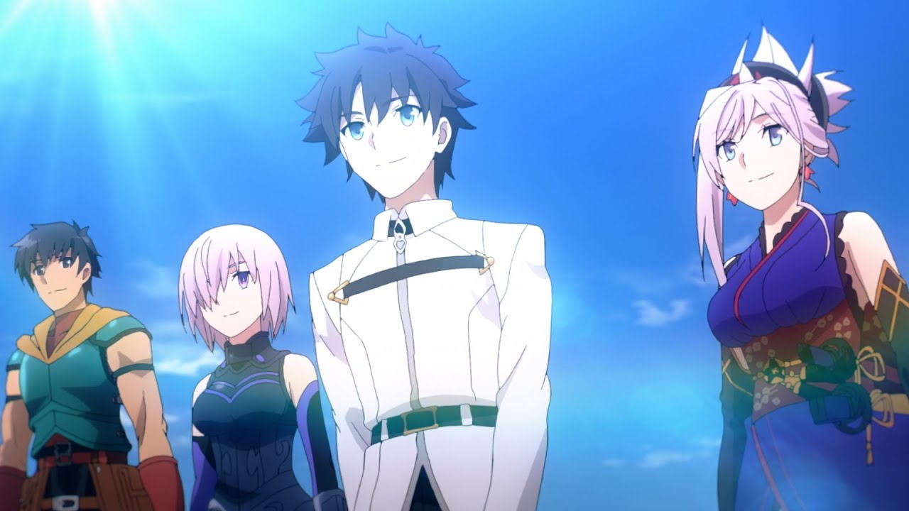 FATE/GRAND ORDER Celebrates 14 Million Downloads With A TV