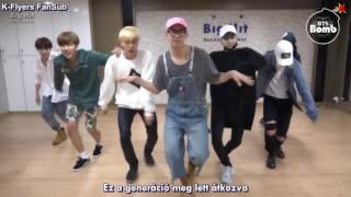 BTS - Crow-Tit (Baepsae) (Dance Ver.) (Hun Sub)
