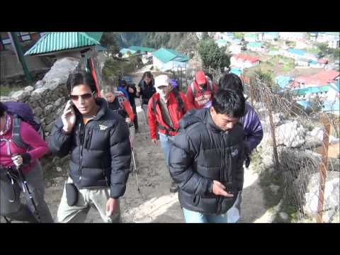 Namche Bazaar Oct 2011.wmv