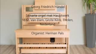 Georg Friedrich Händel Gavotte (Hauptwerk organ)