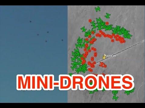 Pentagon's mini-drones swarm like bees