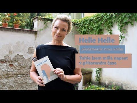 Helle Helle představuje svou knihu Tohle jsem měla napsat v přítomném čase