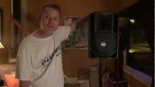 """My New RCF 408A """"DJ Micro System"""" Speakers"""