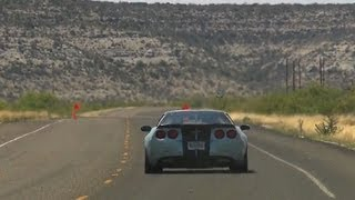 Speed limit comes off for Texas' Big Bend Open Road Race