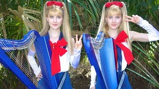 SAILOR MOON - ムーンライト伝説 (Moonlight Densetsu) Harp Twins‬‬‬‬‬‬‬‬‬ - Camille and Kennerly