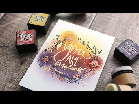The PERFECT autumn colors for ink blending