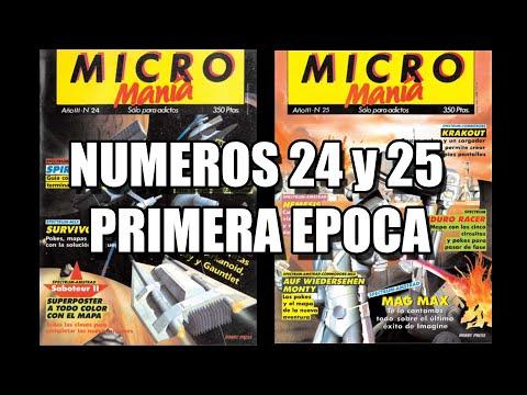 MICROMANIA PRIMERA 24 y 25