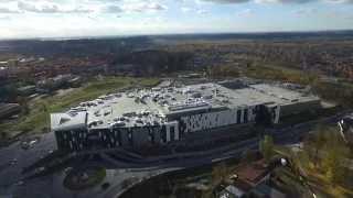 Centrum Handlowe Galena przed otwarciem - Jaworzno 10.11.2015