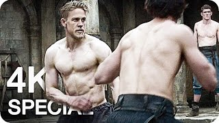 KING ARTHUR Extended First Look Clip & Trailer (2017) Legend of the Sword 4K Ultra HD