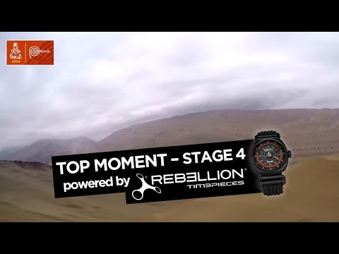Top Moment by Rebellion - Stage 4 (Arequipa / Tacna) - Dakar 2019