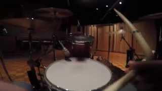GOPR0003: Being As An Ocean Recording Drums