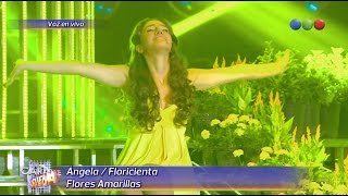 Angela es Floricienta, Flores Amarillas - Tu Cara me Suena 2014