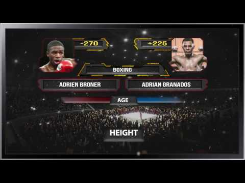 Boxing Adrien Broner vs Adrian Granados | Fight Preview Odds & Picks - Feb 18, 2017
