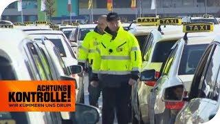 Taxiaufsicht in Köln: Läuft hier alles reibungslos? | Achtung Kontrolle | kabel eins