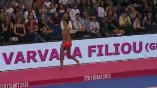 Varvara Filiou (GRE), Ball,  Stuttgart WM 11.09.2015 Finale