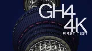 GH4 4K FIRST TEST (※Test model)