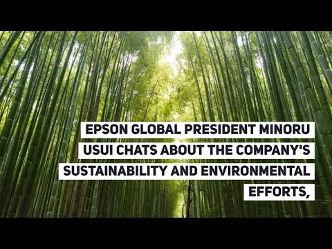 President Usui - How Epson is Planning for the Future