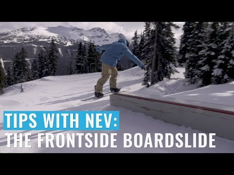 Tips With Nev: The Frontside Boardslide