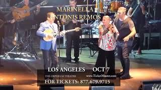MARINELLA AND ANTONIS REMOS LIVE IN LA