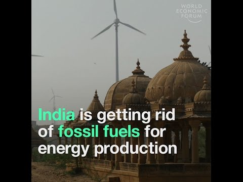 India is getting rid of fossil fuels for energy production