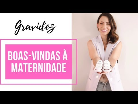 Novidade: estou grávida, boas-vindas à maternidade!