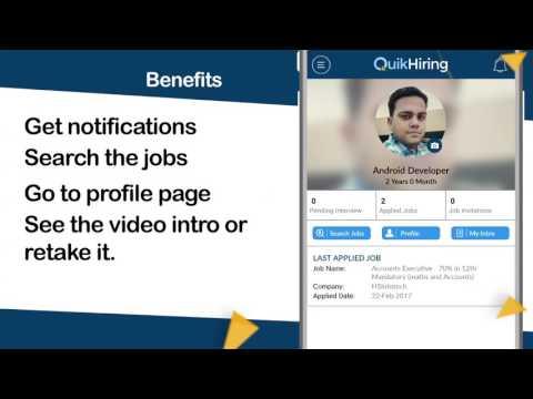 QuikHiring Mobile App - Candidate Process Explained