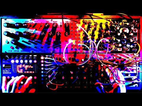 Rheyne - Sequenced Jam #69 (Live Modular Synth Performance)