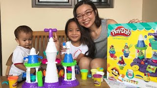 Rejeki Anak Rajin | Zara Dapat Surprise Playdoh Ice Castle Dari Tante Sophia | Lets Play