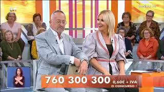 Goucha e Cristina dançam ao ritmo de «DAME TU COSITA» - VOCÊ NA TV