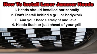 How to Install a Laser Jammer in Your Car or Truck