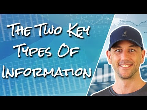 The Two Key Types Of Information And The One You Need To Avoid While Building Your Business Online