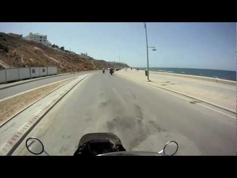 """Motorcycle Expedition – video footage of """"Tangier, Morocco"""""""