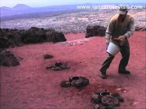 Timanfaya -Volcanic Fire Mountain, Lanzarote,