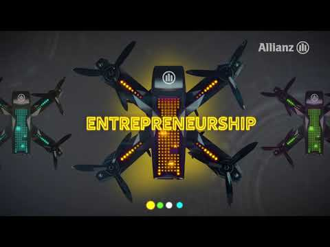 For those who dare, let's race - find out your People Attribute profile with Allianz Rise of Drones