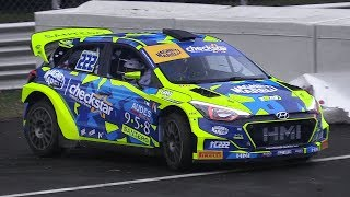 Monza Rally Show 2017: Wednesday Tests – Hyundai i20 WRC, 997 GT3 R-GT, 124 Abarth Rally  More!