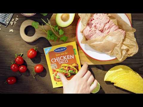 Chicken tacos - ett recept från Santa Maria