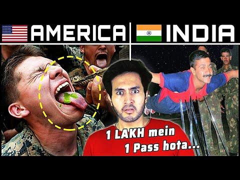 INDIA Vs. CHINA Vs. USA - सबसे खतरनाक PARAMILITARY TRAINING किस देश की?