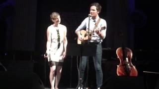 Raphaele Lannadere (feat. Vianney) - Dis-lui toi que je t'aime @ Fnac Live (Paris, 21/07/16)