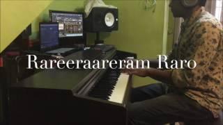 Rareeraareeram Raro Piano cover