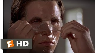 Morning Routine - American Psycho (1/12) Movie CLIP (2000) HD width=