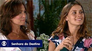 Senhora do Destino: capítulo 157 da novela, sexta, 20 de outubro, na Globo