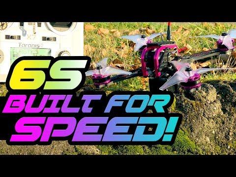 6S for $150! - GT215 Fire Dancer Fpv Racer - FULL REVIEW