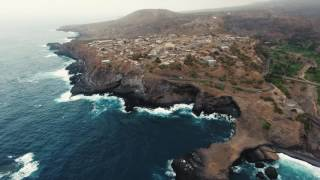 The Coptee. DJI PHANTOM 4. Cabo - Verde, Santiago, Road From Tarrafal