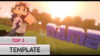 😎 TOP 3 MINECRAFT INTRO TEMPLATES 😎 FOR CINEMA 4D AE BLENDER😎